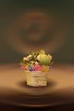 Todavía vida con las flores secadas Imagen de archivo libre de regalías