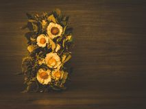Todavía vida con las flores secas Foto de archivo
