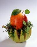 Todavía vida con las frutas fotos de archivo