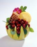 Todavía vida con las frutas Foto de archivo