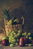 Todavía vida con las frutas Imágenes de archivo libres de regalías