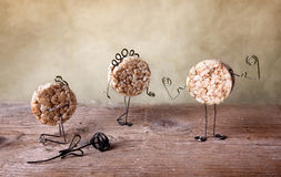 Todavía vida con las galletas Foto de archivo libre de regalías