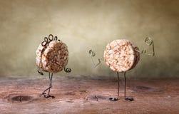 Todavía vida con las galletas Fotografía de archivo