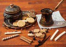 Todavía vida con las galletas Imagen de archivo libre de regalías