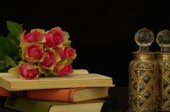 Todavía vida con las rosas Foto de archivo libre de regalías
