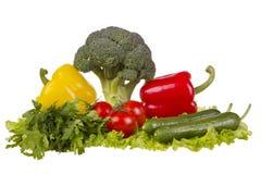 Todavía vida con las verduras frescas Foto de archivo libre de regalías