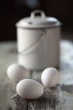 Todavía vida con los huevos Imagen de archivo libre de regalías