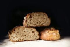 Todavía vida con pan de centeno fresco Fotografía de archivo libre de regalías