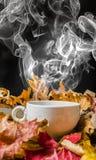 Todavía vida con una taza de té Fotografía de archivo libre de regalías
