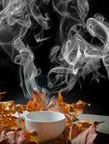 Todavía vida con una taza de té Fotos de archivo
