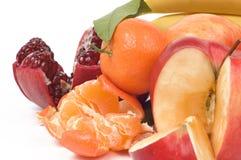 Todavía vida de frutas frescas Fotos de archivo