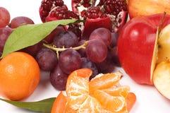 Todavía vida de frutas frescas Fotografía de archivo libre de regalías