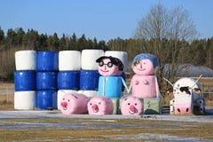 Todavía vida de la agricultura finlandesa Fotografía de archivo libre de regalías