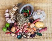 Todavía vida de la comida y de la verdura Fotos de archivo libres de regalías