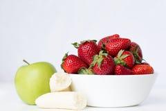 Todavía vida de la fruta fresca Fotografía de archivo