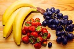 Todavía vida de la fruta fresca natural Foto de archivo libre de regalías