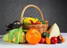 Todavía vida de las verduras del otoño Foto de archivo libre de regalías