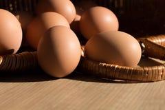 Todavía vida de los huevos del pollo Foto de archivo libre de regalías