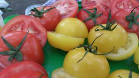Todavía vida de tomates Imagen de archivo
