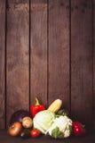 Todavía vida de verduras Imágenes de archivo libres de regalías