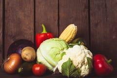 Todavía vida de verduras Imagen de archivo