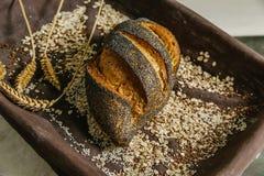Todavía vida del pan Fotografía de archivo libre de regalías