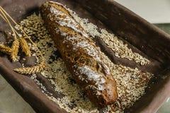 Todavía vida del pan Imagen de archivo libre de regalías