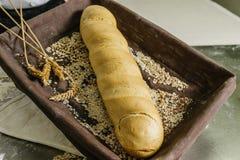 Todavía vida del pan Foto de archivo libre de regalías