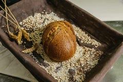 Todavía vida del pan Fotografía de archivo