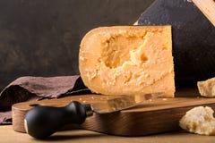 Todavía vida del queso Foto de archivo libre de regalías