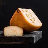 Todavía vida del queso Fotos de archivo