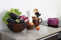 Todavía vida en la cocina Foto de archivo libre de regalías