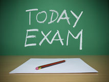 Today exam Stock Photos