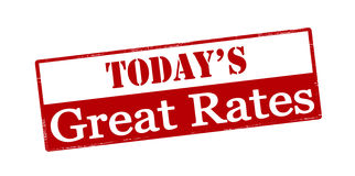 Today great rates Royalty Free Stock Images