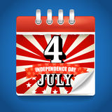 Today is The Independence Day Royalty Free Stock Image