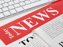 Today news Stock Images