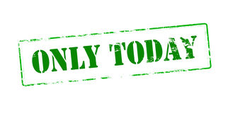Only today Royalty Free Stock Image
