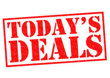 TODAY`S DEALS Royalty Free Stock Image