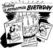 Today Is Someone's Birthday Royalty Free Stock Images