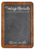 Today Specials on blackboard Royalty Free Stock Photos