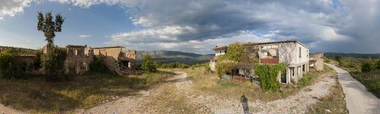 Abandoned village of Duboka in Bosnia Royalty Free Stock Photo