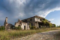 Abandoned village of Duboka in Bosnia Royalty Free Stock Image