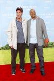 Todd Bridges und Adam Sandler Stockbild