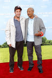 Todd Bridges und Adam Sandler Stockfoto