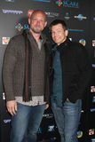 Todd Farmer; Patrick Lussier at the sCare Foundation Halloween Launch Benefit Stock Image