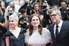 Todd Haynes, Michelle Williams and Julianne Moore Stock Images