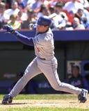 Todd Hundley, Los Angeles Dodgers lizenzfreies stockbild