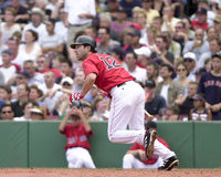 Todd Walker. Boston Red Sox 2B Todd Walker.  Image taken from color slide Royalty Free Stock Photography