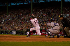 Todd Walker, jeu 5, 2003 ALCS photos stock