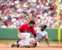 Todd Walker, les Red Sox de Boston Photographie stock